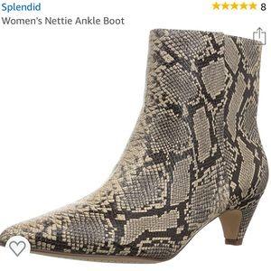 Splendid Women's Nettie Natural Kitten Heel Bootie